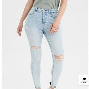 American Eagle Next Level Curvy High Waist Jeans